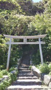 志賀海神社入り口近景
