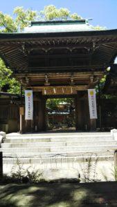 志賀海神社門