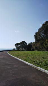 原城跡徒歩ルート道