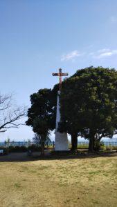 原城跡十字架