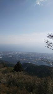 雲仙からの海