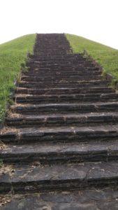 弘化谷古墳内階段