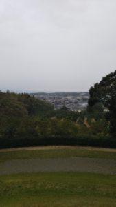 弘化谷古墳からの景色