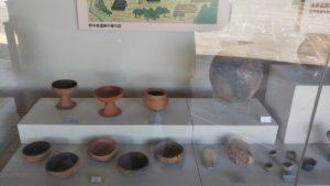 浦山古墳展示物