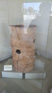 浦山古墳展示