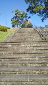 浦山公園階段