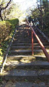 6号墳本堂への階段