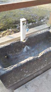 玉垂命神社手洗い場拡大