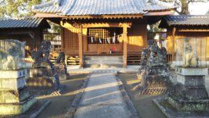 玉垂命神社狛犬