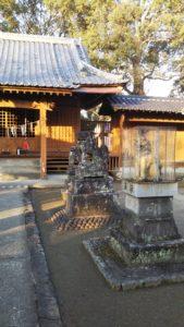 玉垂命神社狛犬2