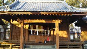 玉垂命神社社殿