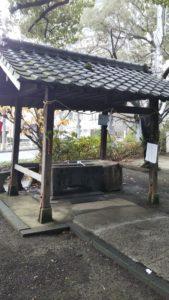 諏訪神社手水舎