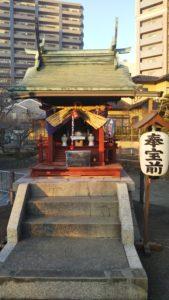 諏訪えびす神社拝殿