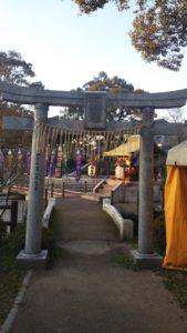 諏訪えびす神社鳥居