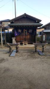六所神社内粟島神社