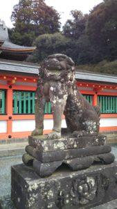 高良大社狛犬