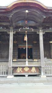 高良大社社殿
