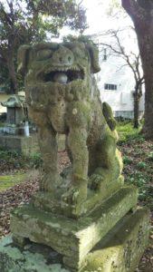 豊姫神社狛犬