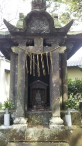 豊姫宮石祠