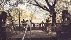 上津本山天満宮狛犬