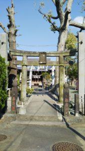 久留米諏訪神社第二鳥居