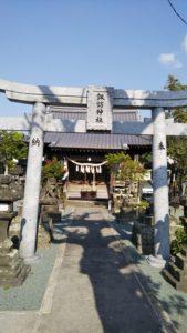 久留米諏訪神社第三鳥居