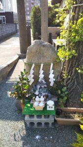 久留米諏訪神社石