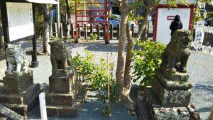 久留米諏訪神社狛犬2
