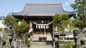 久留米諏訪神社本殿