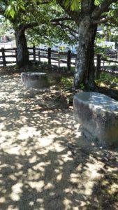 諏訪野町公園ベンチ