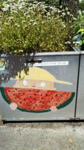 諏訪野町公園鉢の絵