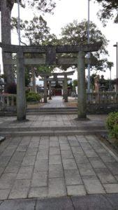 国分日吉神社鳥居
