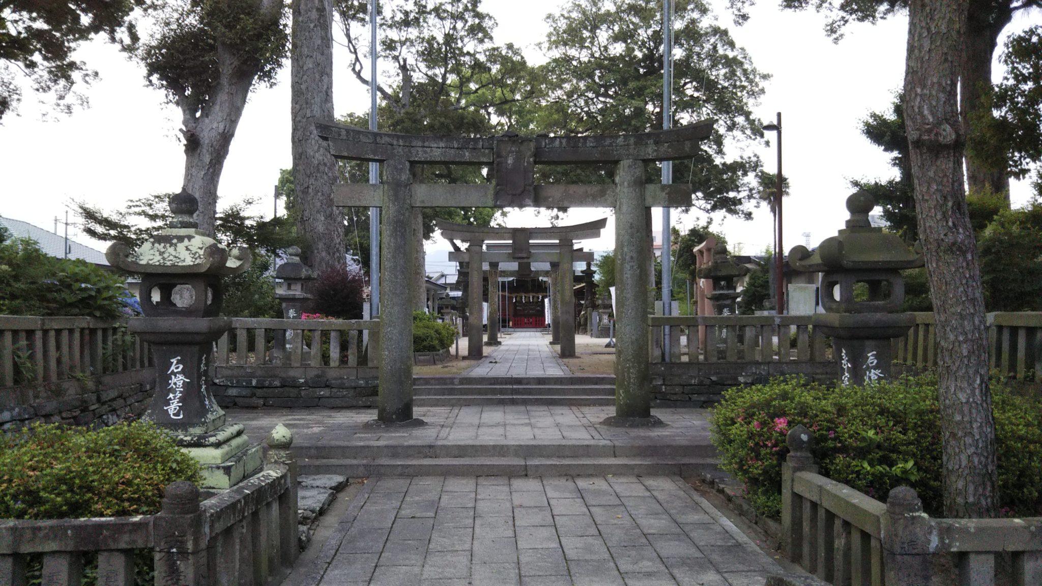 国分日吉神社全景