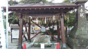 国分日吉神社手水舎