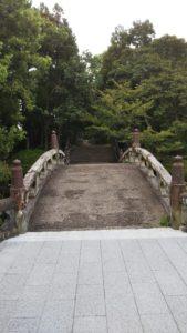 五穀神社石橋
