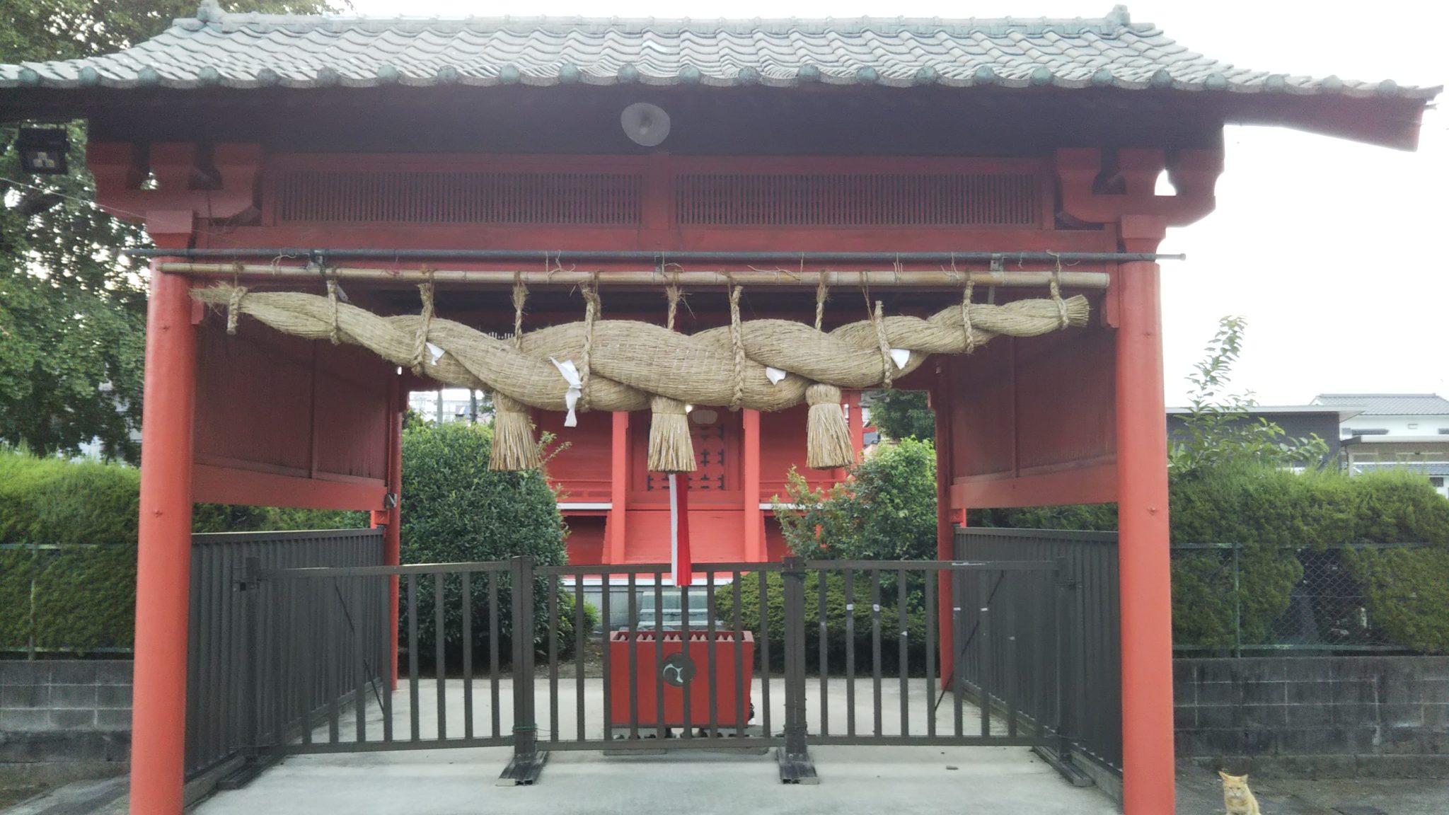 五穀神社本殿