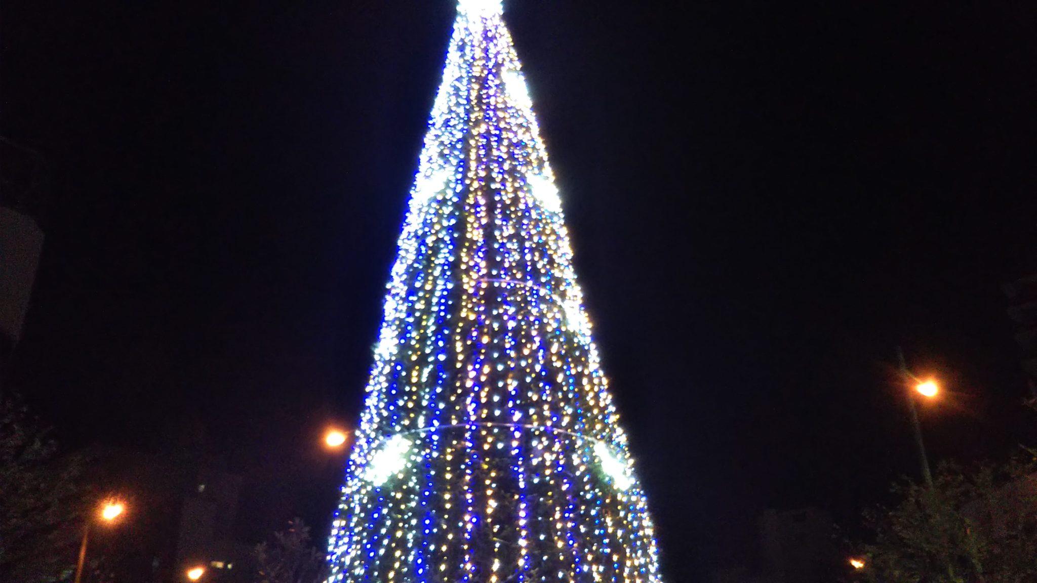 久留米クリスマスツリー