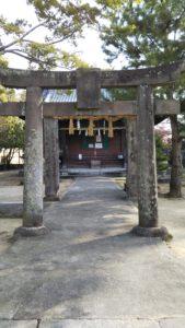 西町日吉神社第三鳥居