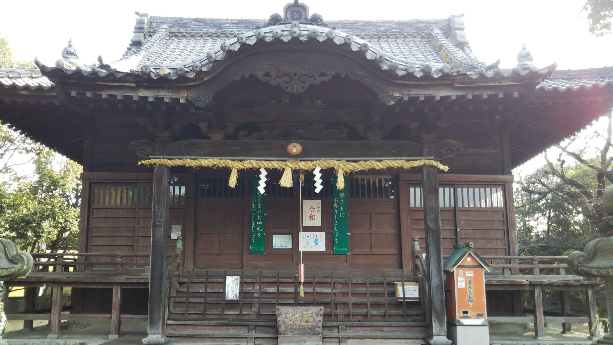 西町日吉神社本殿