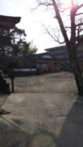 西町日吉神社駐車場