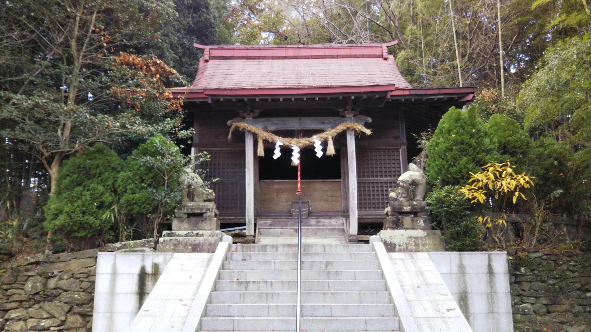 久留米熊野神社本殿