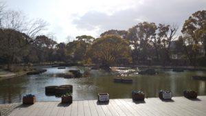 石橋文化センター楽水池2