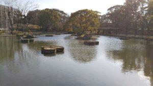 石橋文化センター楽水池